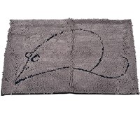 Cat Litter Mat - Large (Grey)