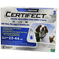 Image of 3 Month CERTIFECT BLUE for Dogs 23-44 lbs