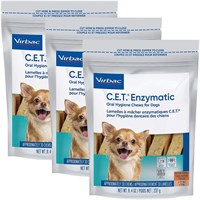 3-PACK CET Chews for Small Dogs (90 chews)