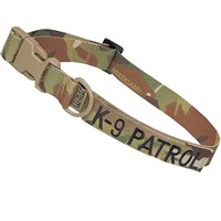 Cetacea Tactical Dog Collar - K-9 Patrol (Large)