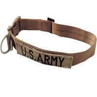 Cetacea Tactical Dog Collar - U.S. Army (Large)