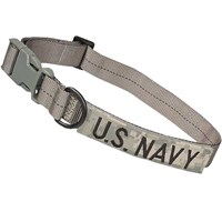 Cetacea Tactical Dog Collar - U.S. Navy (Large)