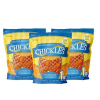 3-PACK Chickles Chicken Breast Fillets for Dogs (3 lb)