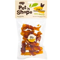 Dog Suppliesdog Treats & Chewsallnatural Dog Treats & Biscuitspet N Shape Chik N Sweet Potato