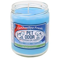 Pet Odor Exterminator Candle™ - Clothesline Fresh™ Jar (13 oz)