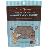 CocoTherapy® Maggie's Macaroons - Coconut Vanilla Flax (4 oz)