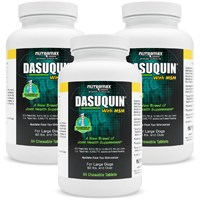 3-PACK Dasuquin for Large Dogs 60 lbs. & over with MSM (252 Chews)