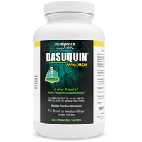 Dasuquin for Small/Medium Dogs under 60 lbs. with MSM (150 Chewable Tabs)