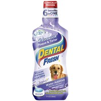 Dental Fresh® Advanced Plaque & Tartar Water Additive for Dogs (17 fl oz)