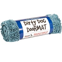 Dirty Dog Doormat - Large (Maroon)