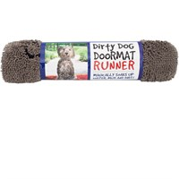 Dirty Dog Doormat Runner - Nano (Grey)