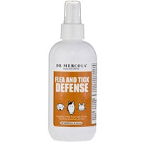 Image of Dr. Mercola Flea & Tick Defense for Cats & Dogs (8 oz)
