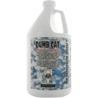 Dumb Cat® Anti-Marking & Cat Spray Remover (128 fl oz) - FREE Pet Urine Locator Blacklight