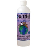 Earthbath Natural Pet Shampoo - Light Coat Brightener (16 oz)