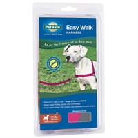 PetSafe Easy Walk Harness - Raspberry/Gray (Small/Medium)
