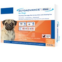 EctoAdvance® Plus for Dogs 4-22 lbs (3 Dose)