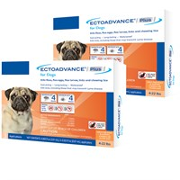 EctoAdvance® Plus for Dogs 4-22 lbs (6 Doses)