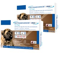 EctoAdvance® Plus for Dogs 89-132 lbs (6 Doses)