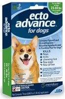 3 MONTH EctoAdvance for Dogs 23-44 lbs