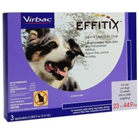 Effitix for Dogs 23-44.9 lbs. - 3 Months