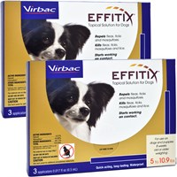 Effitix for Dogs 5-10.9 lbs. - 6 Months