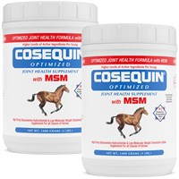 2 pack cosequin® equine optimized with msm (2800 gm) on lovemypets.com