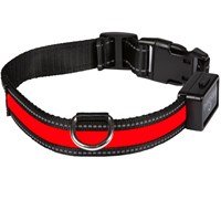 Eyenimal Light Collar - Red (Medium)