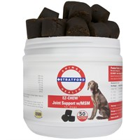 EZ-CHEW Joint Support with MSM for Dogs (50 soft chews)