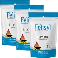 3-PACK Felisyl® Immune System Support (180 Soft Chews)