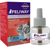 Feliway MultiCat 30 Day Diffuser Refill (48 ml)