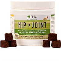Fera Hip + Joint Supplement for Dogs (90 Soft Chews)