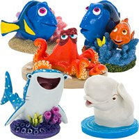 Finding Dory & Friends Aquarium Ornament Set - Mini