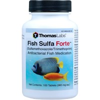 Fish Sulfa Forte (Sulfamethoxazole / Trimethoprim) (100 count)