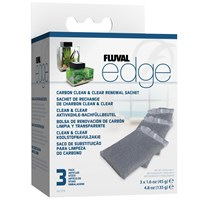 Image of Fluval Edge Carbon Renewal Sachets (3 Pack)