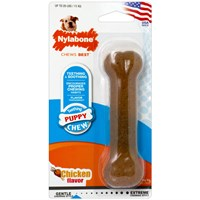"Nylabone Flexible Puppy Bone REGULAR (4.5"")"