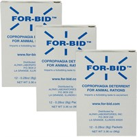 3-PACK FOR-BID Stool-eating Preventative (36 packets)