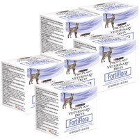 6-PACK FortiFlora FELINE - Box of 180 (1 gram packets) + FREE Hairball Remedy Chews (3 oz)