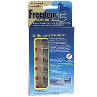 Freedom 45 Spot-On for Horses - 12 Weeks freedomhorses