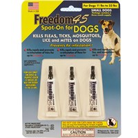 Freedom 45 Spot-On for Dogs SMALL (3 MONTH)