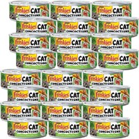 Image of Friskies Cat Concoctions - Chicken in Creamy Crabby Sauce Canned Cat Food (24x5.5 oz)