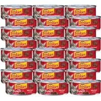 Image of Friskies Prime Filets - Beef in Gravy Canned Cat Food (24x5.5 oz)