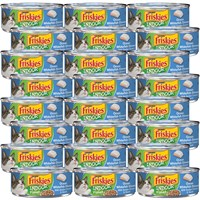 Image of Friskies Indoor - Flaked Ocean Whitefish Dinner Canned Cat Food (24x5.5 oz)