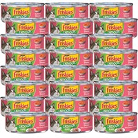Image of Friskies Indoor - Pate Salmon Dinner Canned Cat Food (24x5.5 oz)