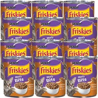 Image of Purina Friskies Meaty Bits Chicken Dinner in Gravy Canned Cat Food (12x13 oz)