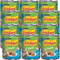 Image of Friskies Pate - Ocean Whitefish & Tuna Dinner Canned Cat Food (12x13 oz)