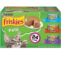 Image of Purina Friskies Pate Variety Pack Canned Cat Food (24x5.5 oz)
