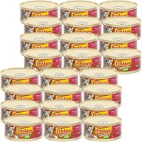 Image of Purina Friskies Chunky Salmon Pate in Savory Gravy Canned Cat Food (24x5.5 oz)