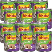 Image of Friskies Pate - Turkey & Giblets Dinner Canned Cat Food (12x13 oz)