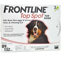 Image of 3 MONTH Frontline Top Spot Red: For Dogs 89-132 lbs.
