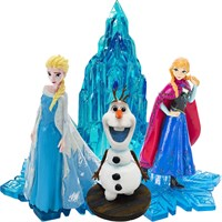 Frozen Characters & Ice Castle Aquarium Ornament Set